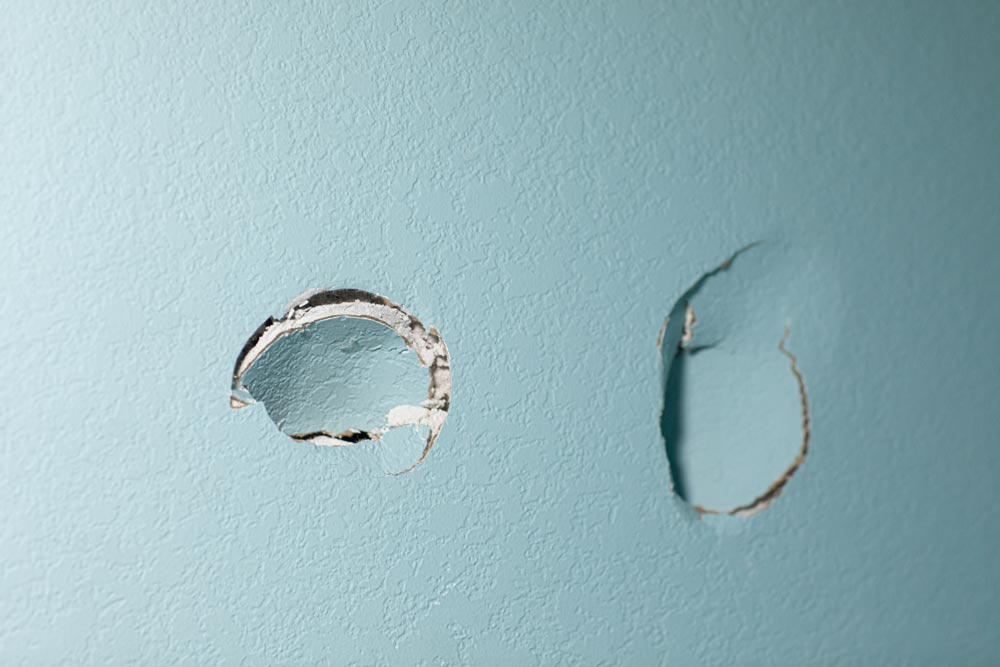 Réparation professionnel de mur en gypse